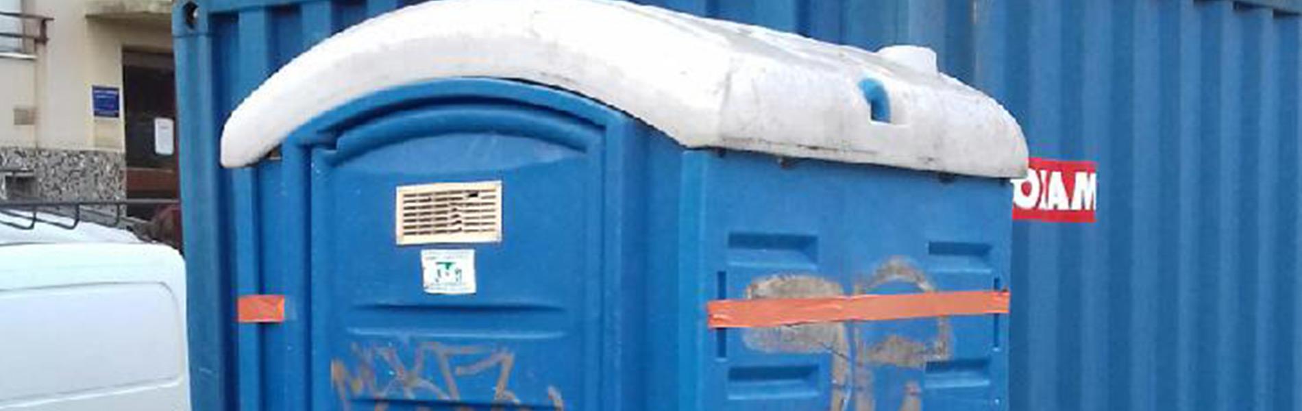Entretien / vidange de WC de chantier