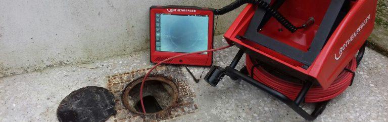 Inspection de canalisation par caméra à Rennes et alentours